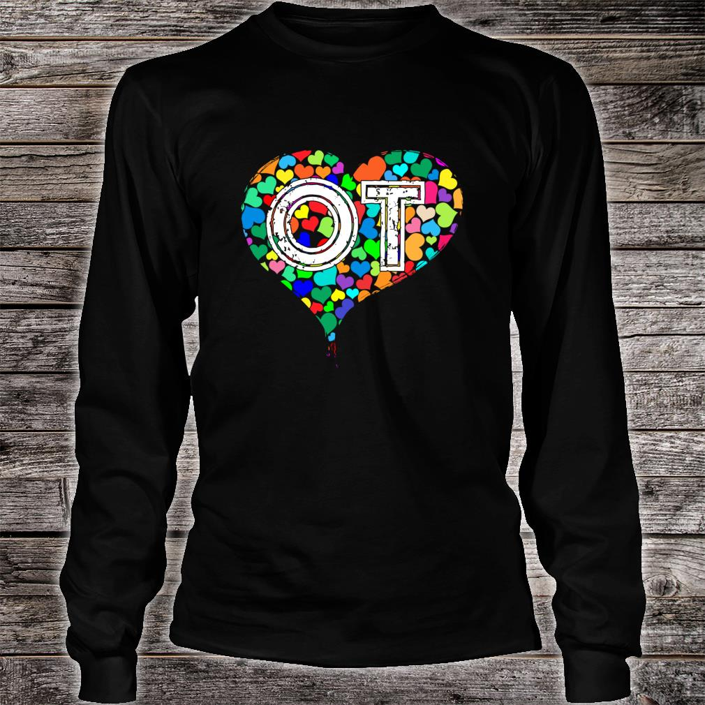 Occupational Therapy Vintage Stressed Shirt long sleeved
