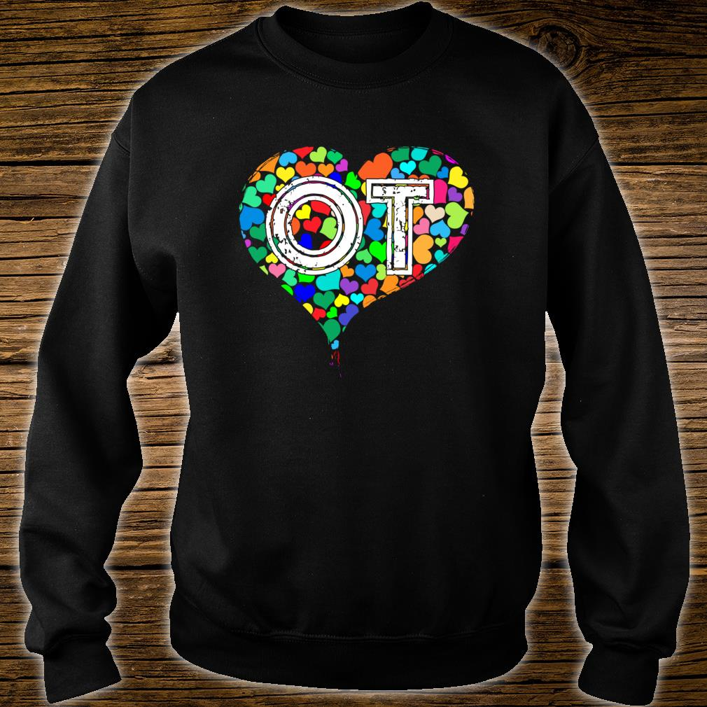 Occupational Therapy Vintage Stressed Shirt sweater
