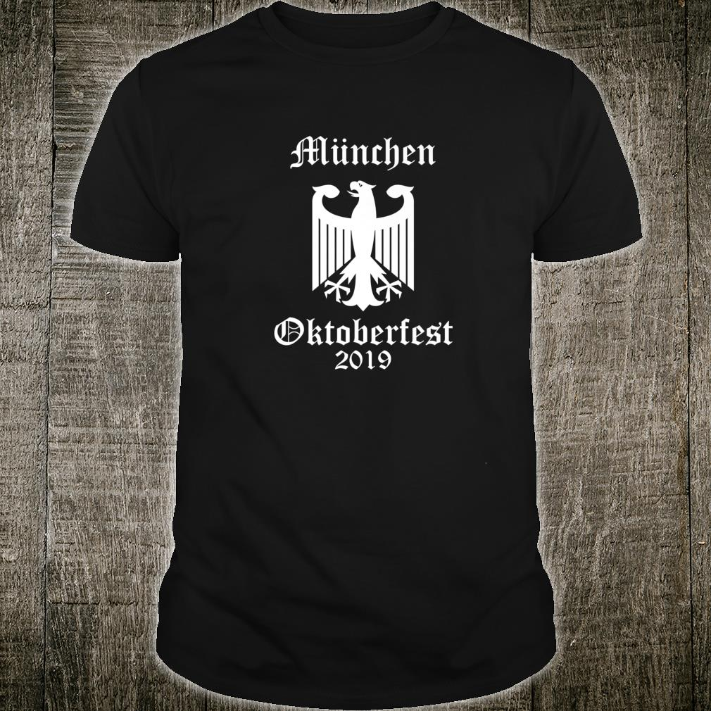 Official Oktoberfest 2019, German Octoberfest Shirt