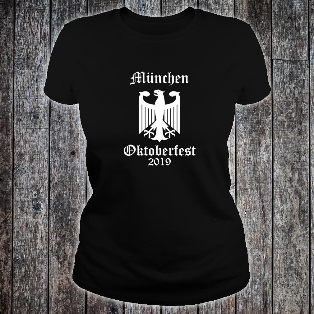 Official Oktoberfest 2019, German Octoberfest Shirt ladies tee