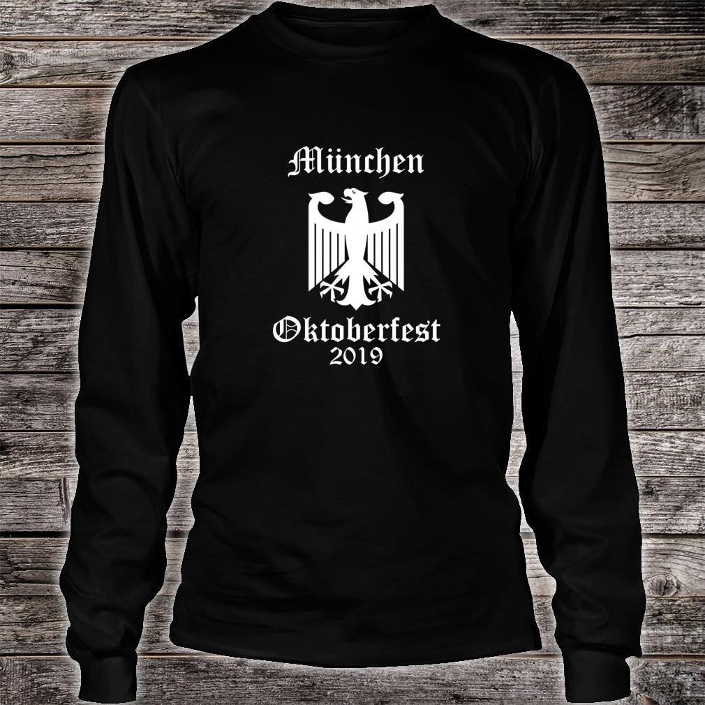 Official Oktoberfest 2019, German Octoberfest Shirt long sleeved