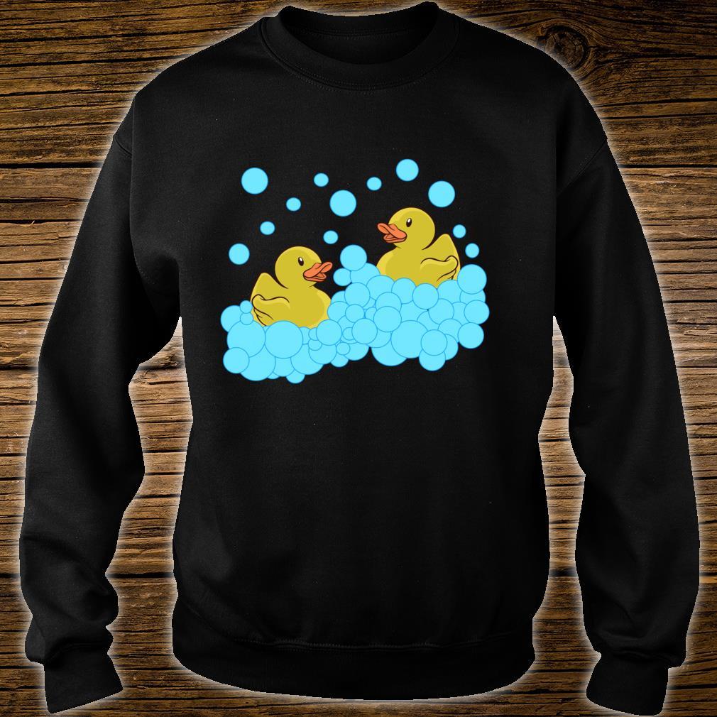 Quietscheenten Kostüm Badeente Gummiente Kindheits Shirt Shirt sweater