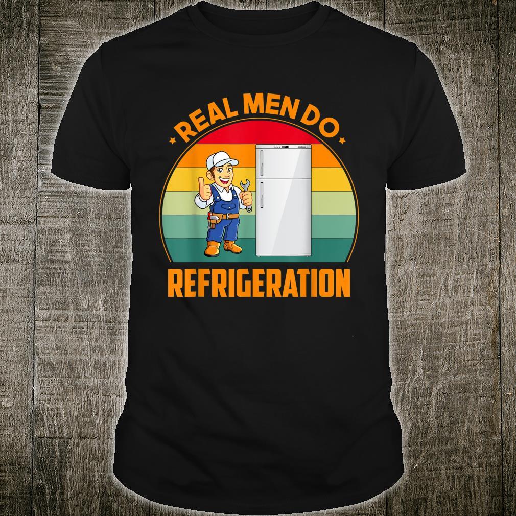 Real Do Refrigeration HVAC Technician Idea Shirt