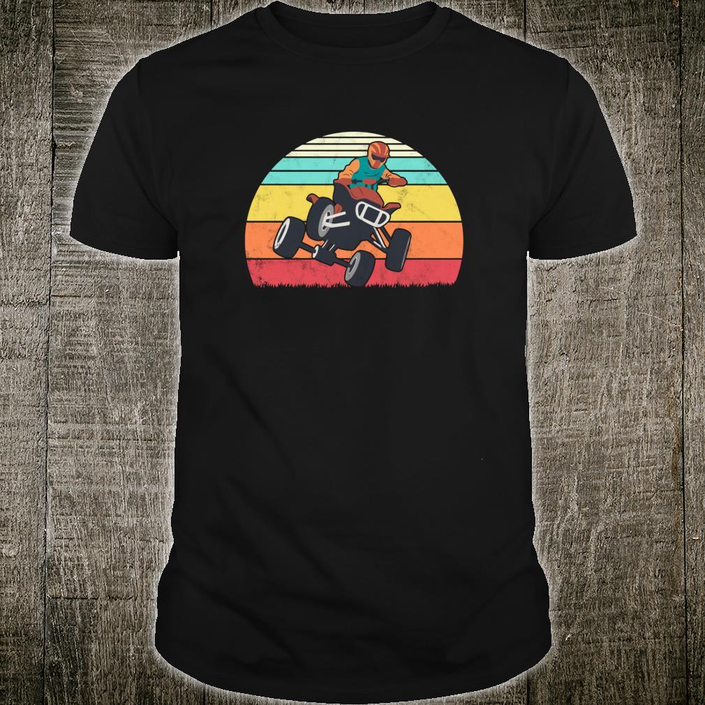 Retro ATV 4 Wheeler Vintage Quad Biker Shirt