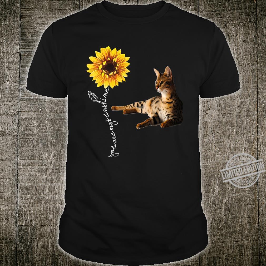 Savannah Cat Shirt