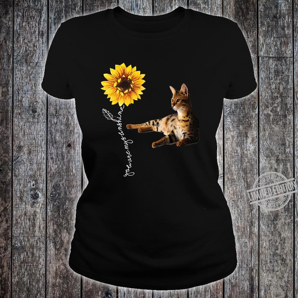 Savannah Cat Shirt ladies tee
