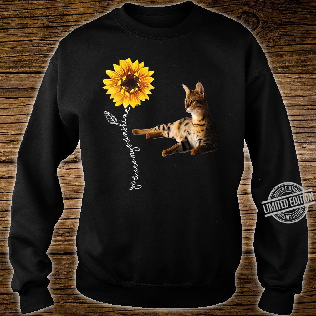 Savannah Cat Shirt sweater