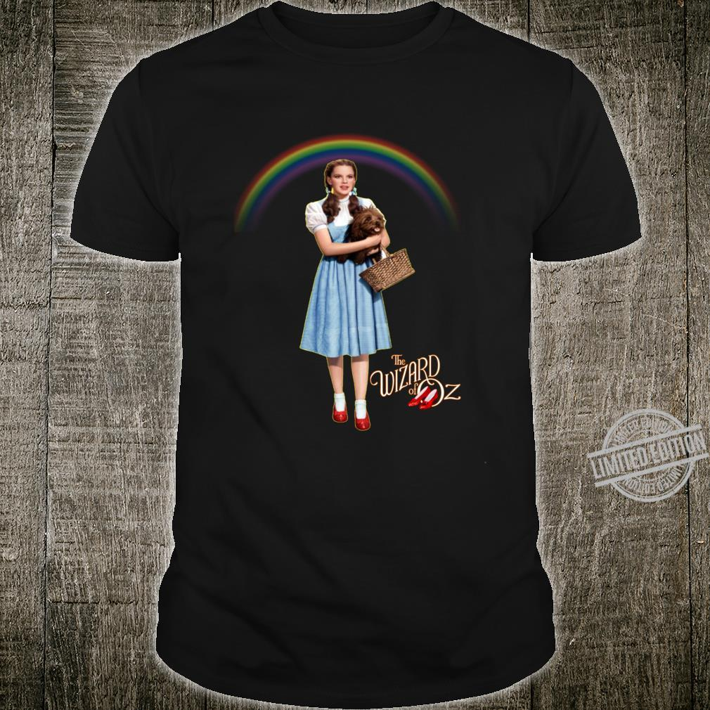 Wizard Of Oz Vintage Fantasy Rainbow Dorothy Red Shoes Toto Shirt
