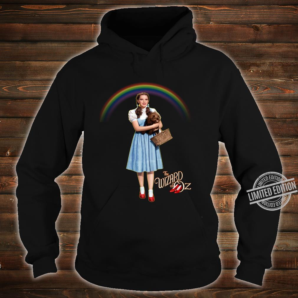 Wizard Of Oz Vintage Fantasy Rainbow Dorothy Red Shoes Toto Shirt hoodie