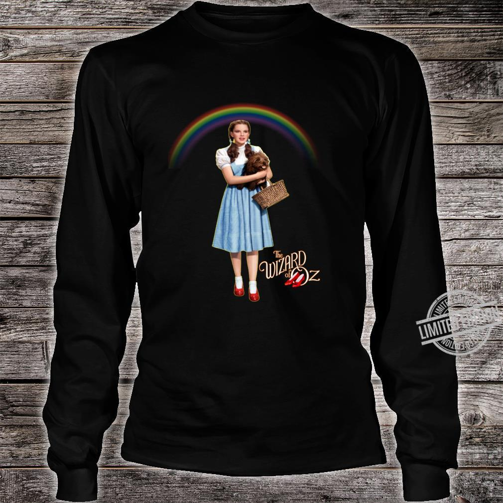 Wizard Of Oz Vintage Fantasy Rainbow Dorothy Red Shoes Toto Shirt long sleeved