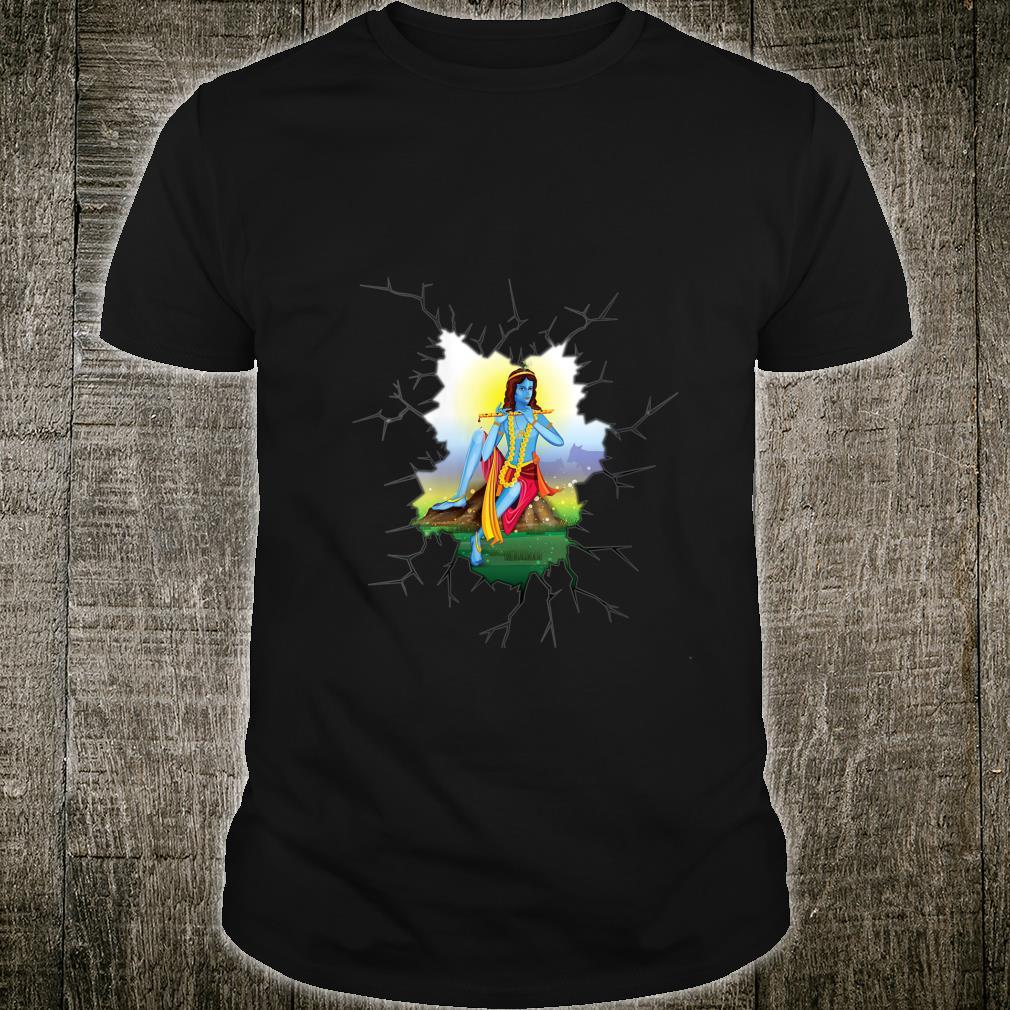 for Hindus Hinduism Diwali Festival Gods Lord Krishna Shirt